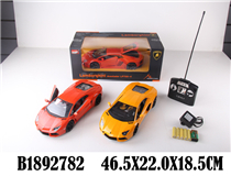 1:14 R/C CAR(LICENCE) W/BATTERY (4CH)