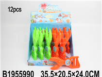 12PCS CRAB CLIP(2 COLOURS)