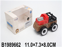 FREE WHEEL BLOCK CAR