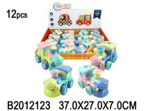 12PCS FRITION TRAIN