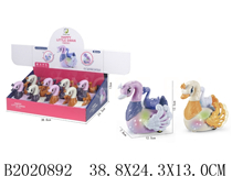 8PCS FRICTION CARTOON GOOSE W/MUSIC&LIGHT