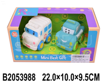 2PCS SOFT PLASTIC CAR